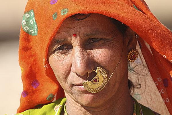 indisk kvinde